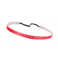 Trishabands Headband Stone Pink White 10mm