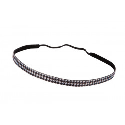 Trishabands Headband Pied de Poule 10mm
