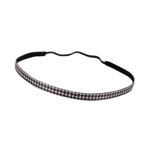 Trishabands Haarbandje Pied de Poule 10mm