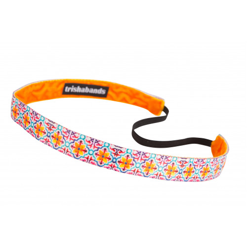 Trishabands Arabic Mosaic Yellow Orange 16mm