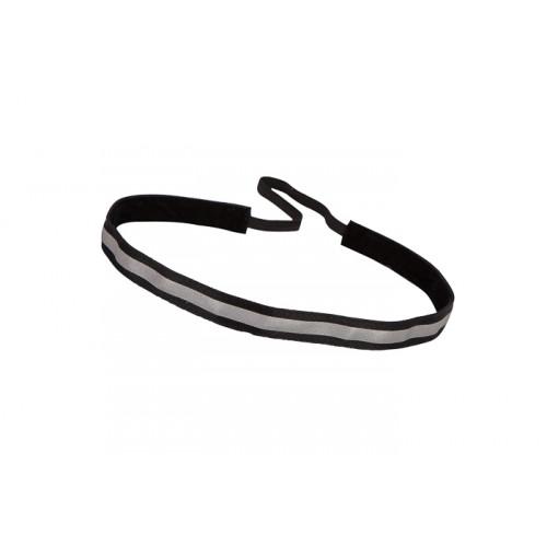 Trishabands Haarbandje Reflective Black 12mm