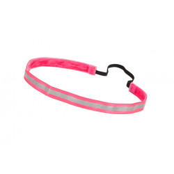 Trishabands Haarbandje Reflective Pink 12mm