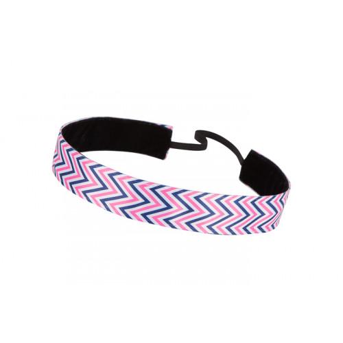 Trishabands Chevy Black White Pink 25mm